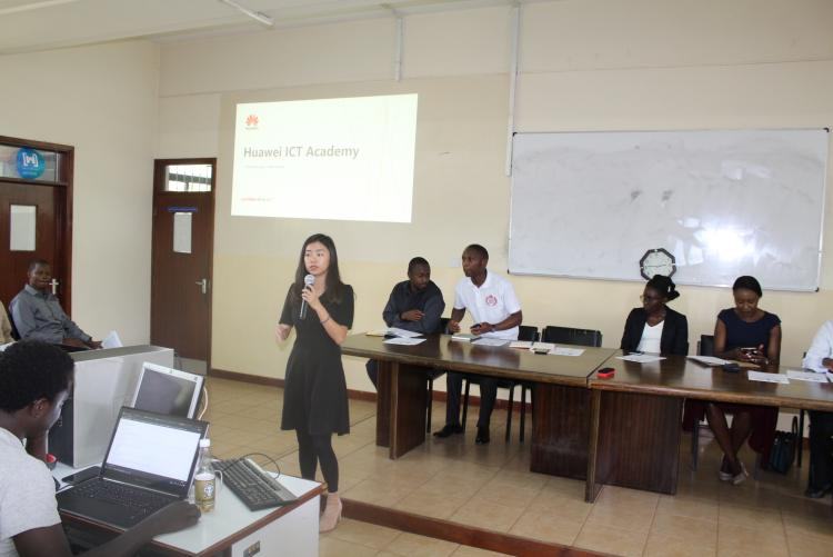 Huawei Training  Sci